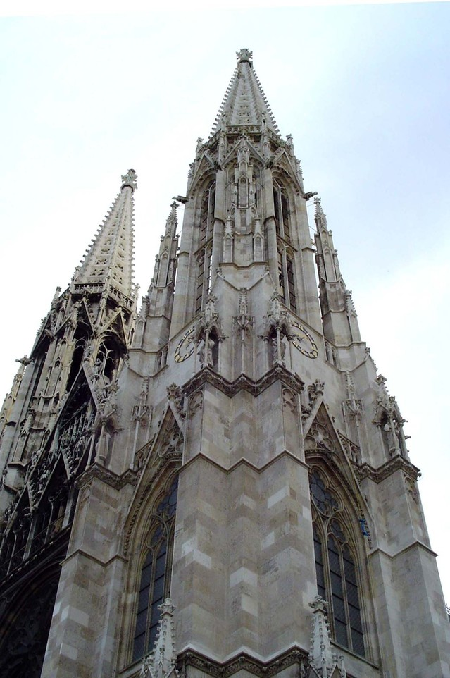 a towering chapel