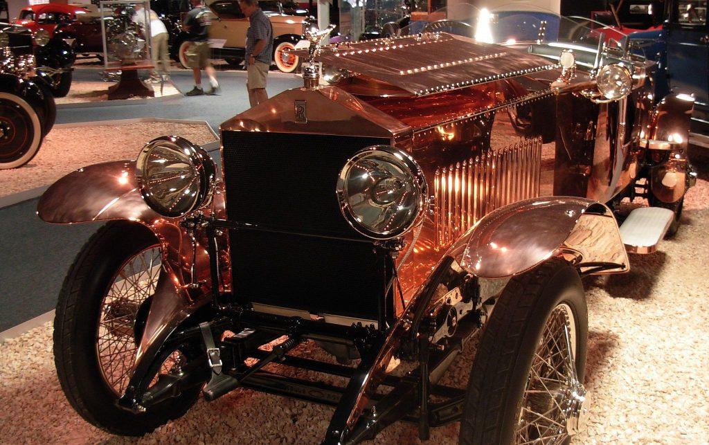 1921 Rolls-Royce Silver Ghost in gold