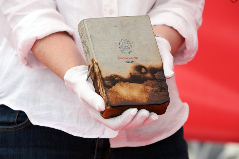 A book that has survived a book burning